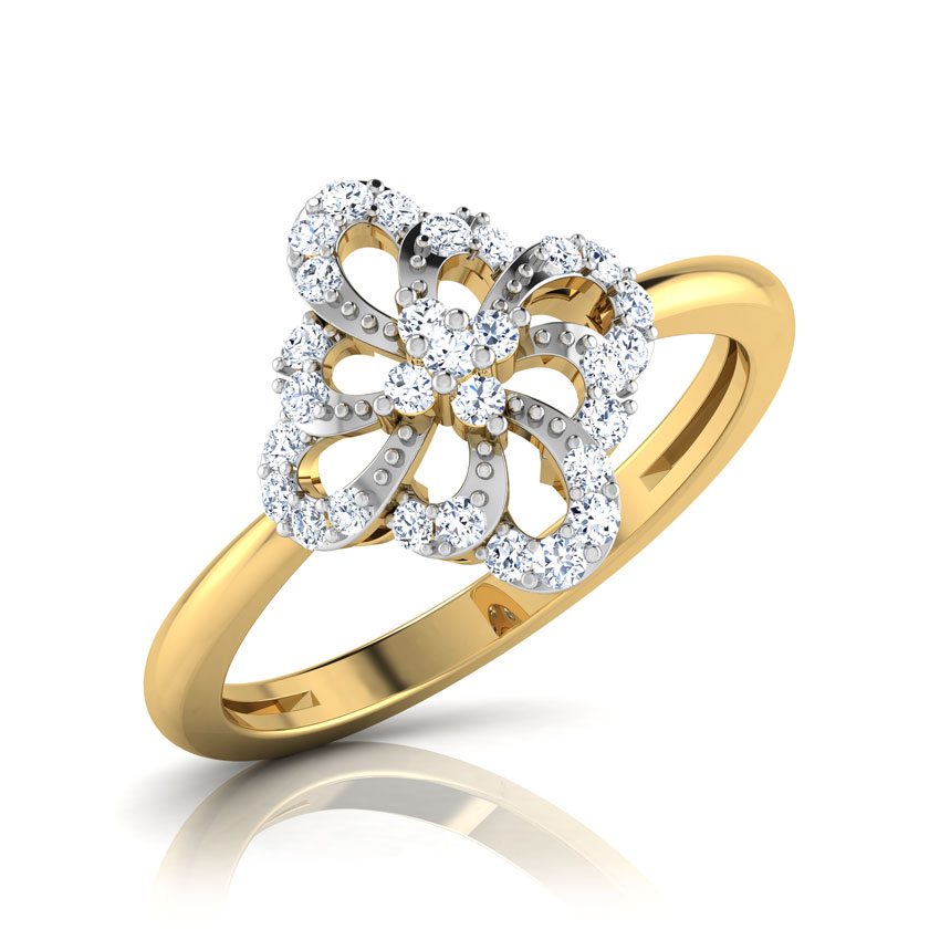 Kida Cluster of Pear Ring