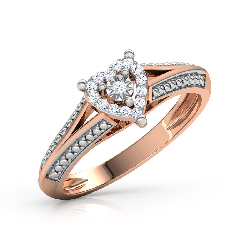 Ilda Miracle Plate Heart Ring
