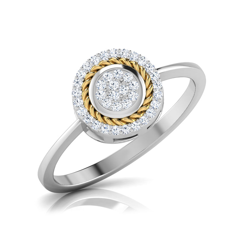 Ava Filigree Halo Ring