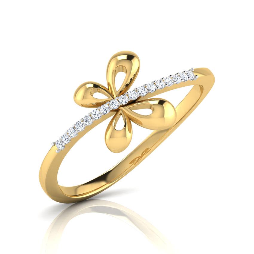 Flicker Butterfly Ring