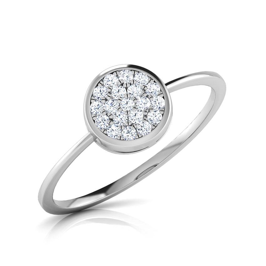 Zoe Button Ring