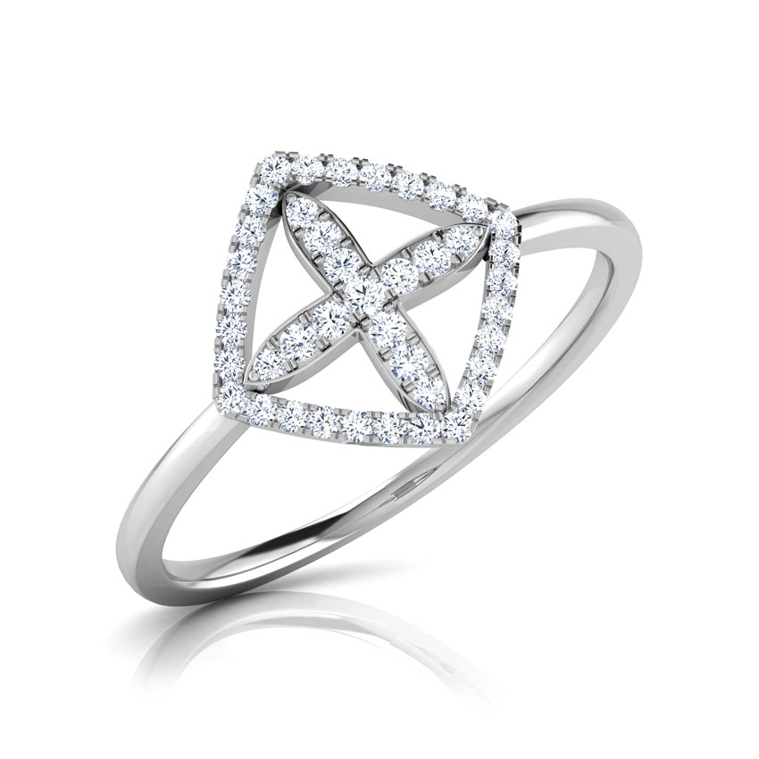 Jiera Diamond Petaled Ring