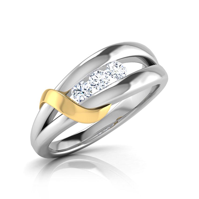 Adriana Drop Twine Ring