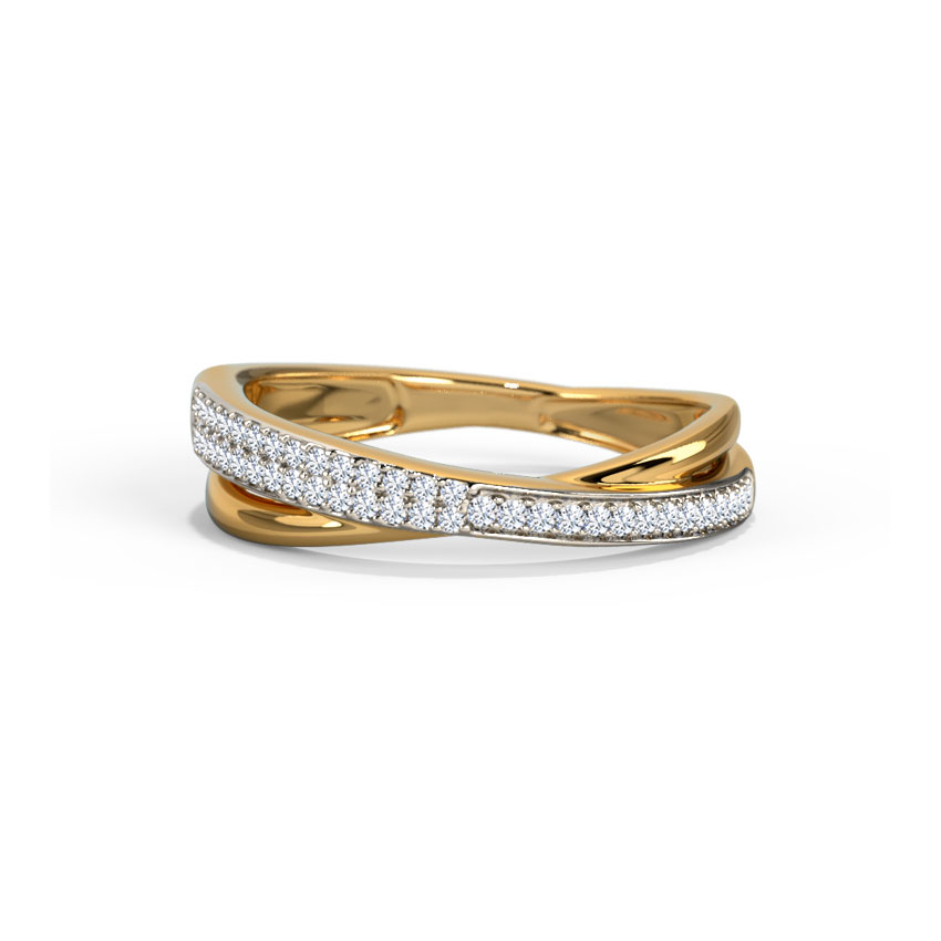 Gilda Shimmer Thread  Diamond Band