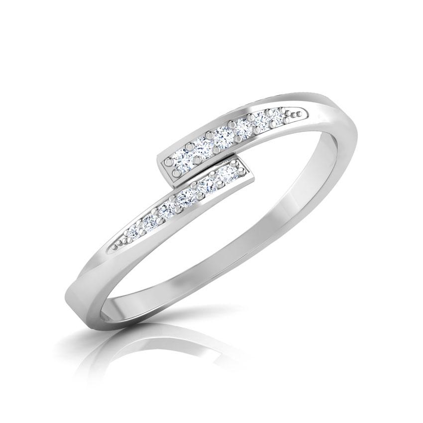 Diamond Rings 14 Karat White Gold Gloria Diamond Ring