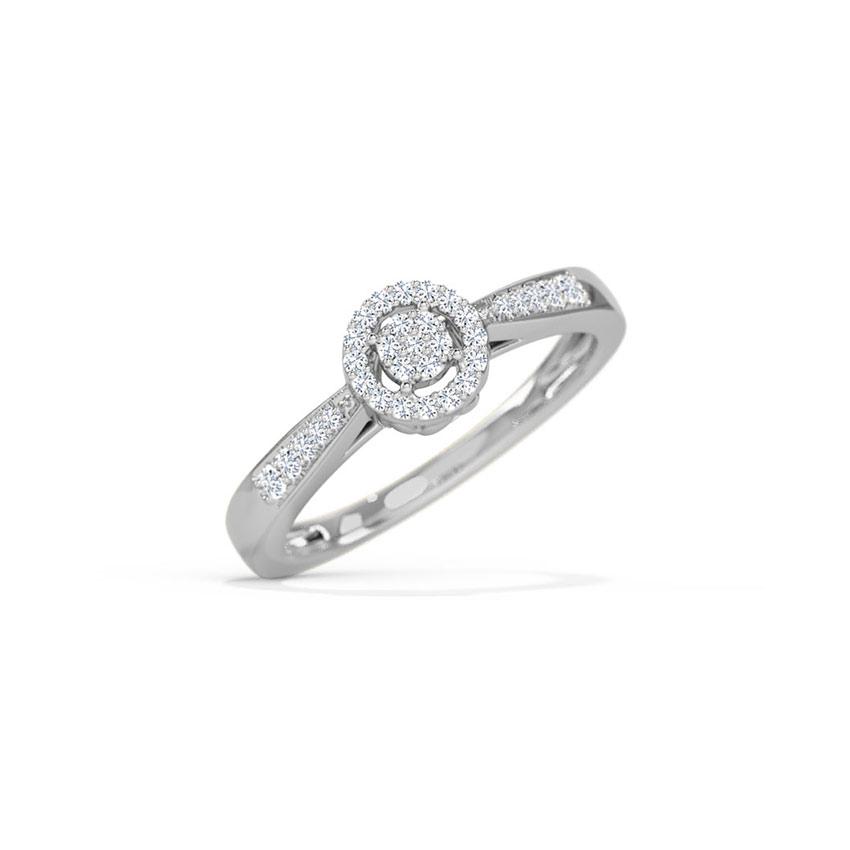Isabel Halo Ring