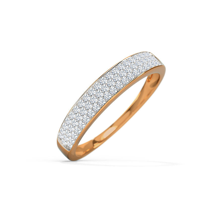 Lindy Pave Diamond Band