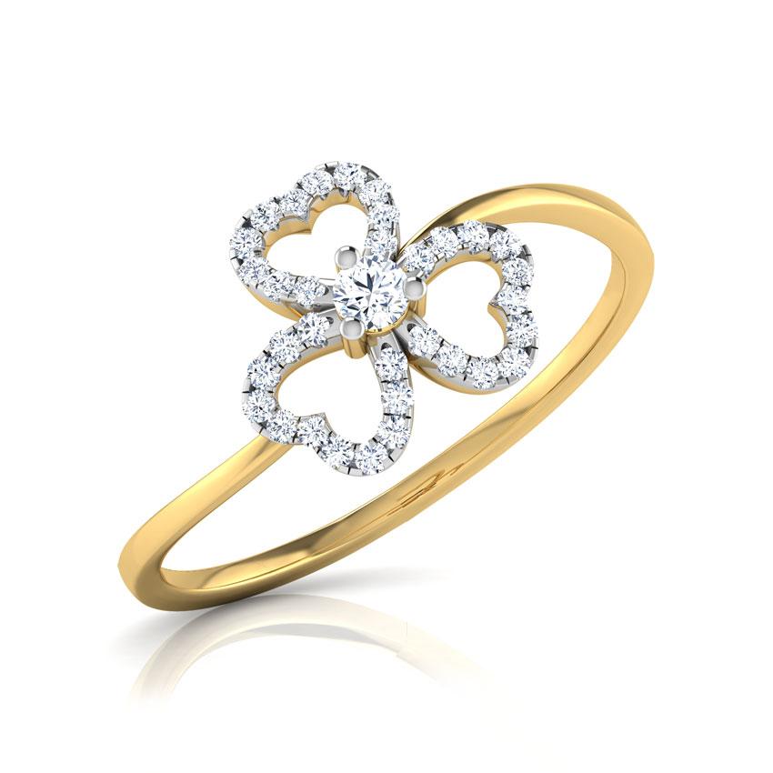 Makayla Clover Ring