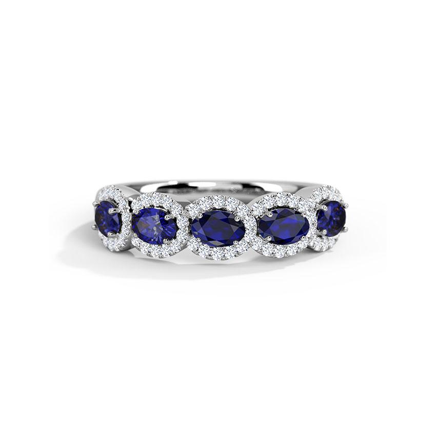 Azura Interlinked Ring
