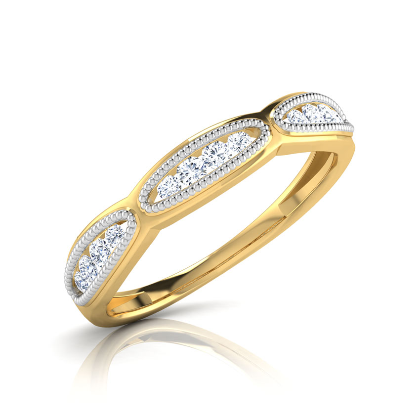 Caramia Hug Diamond Band