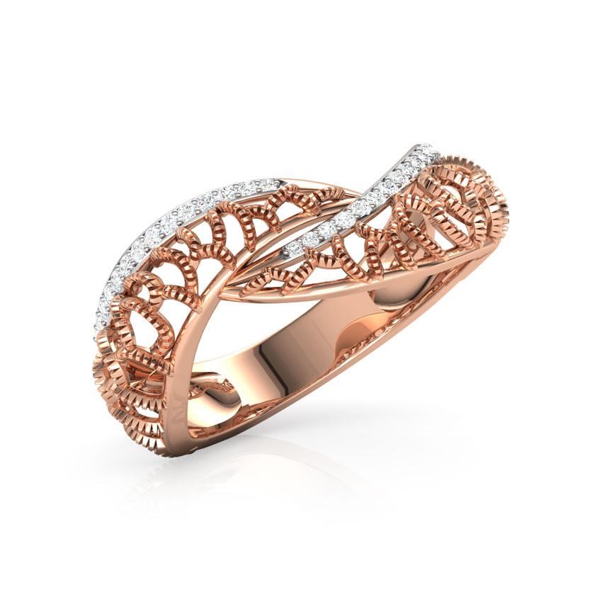 Lia Intertwisted Ring