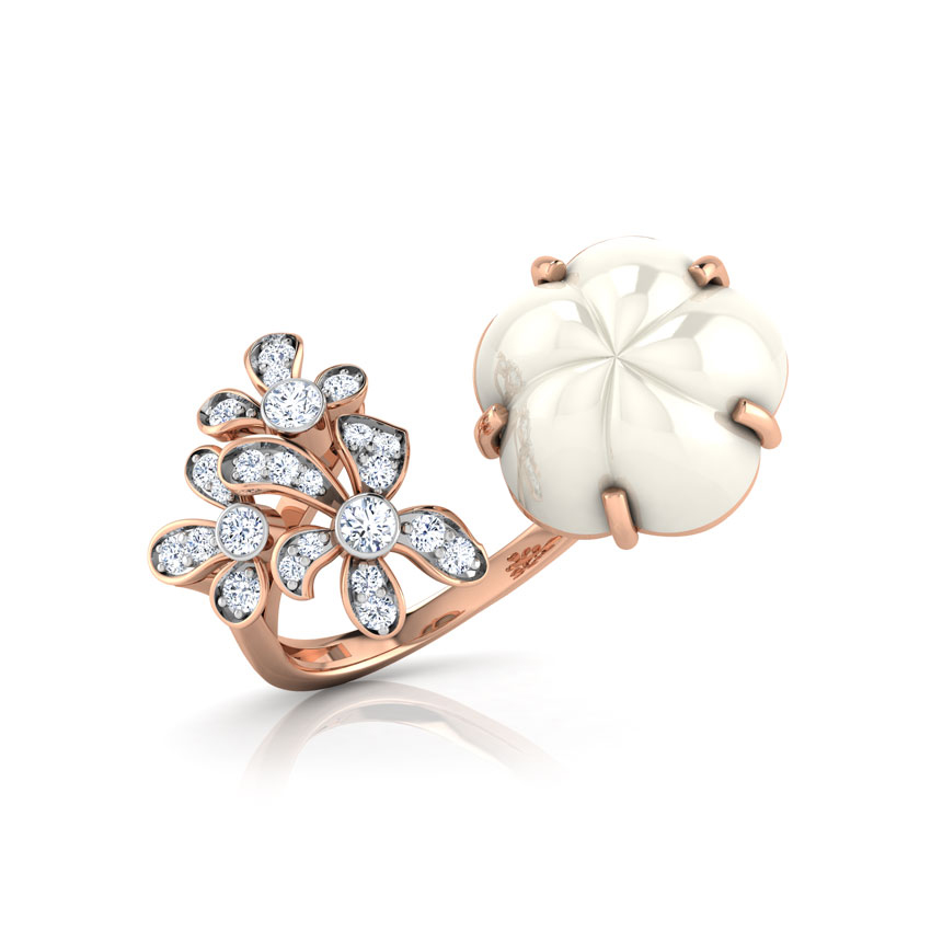Geny Duo Floret Ring