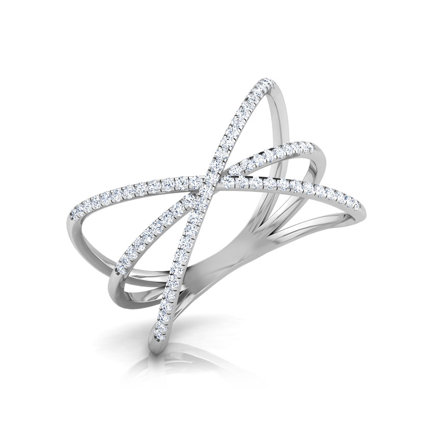 Bow Criss Cross Ring