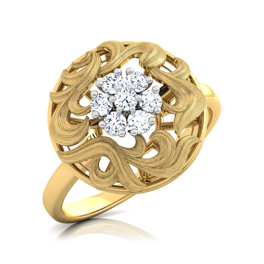 Ornate Cluster Ring