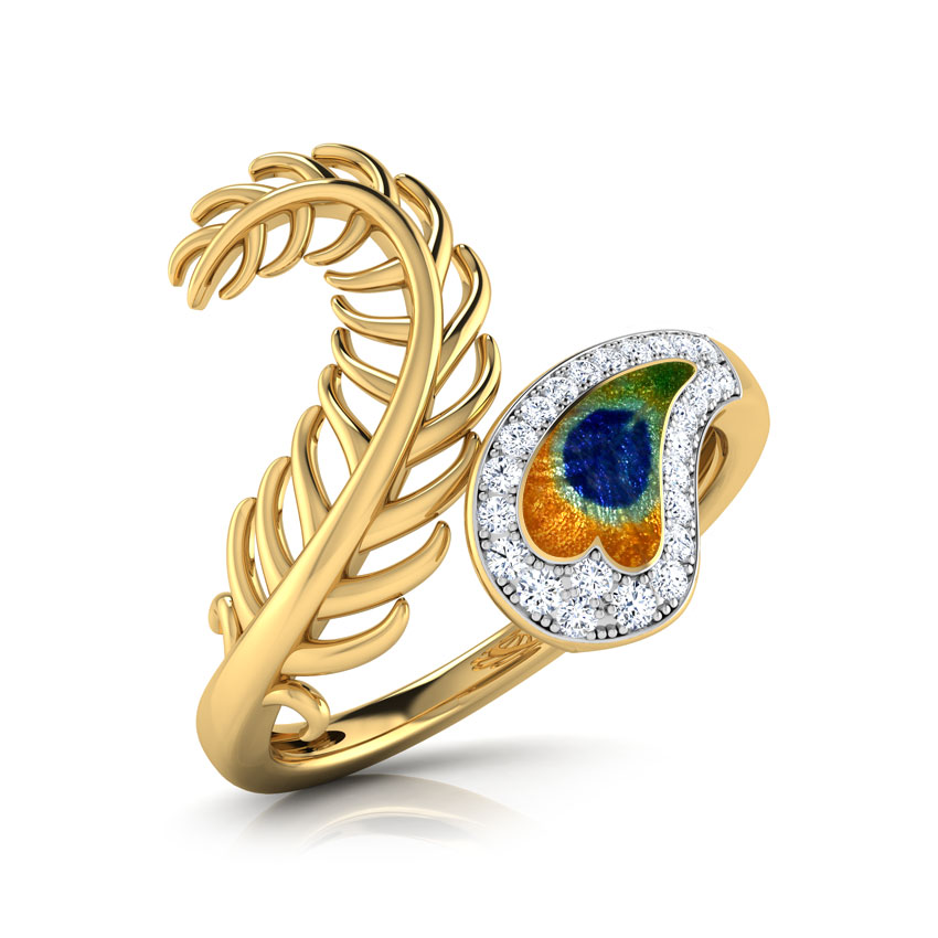 Imperial Peacock Ring