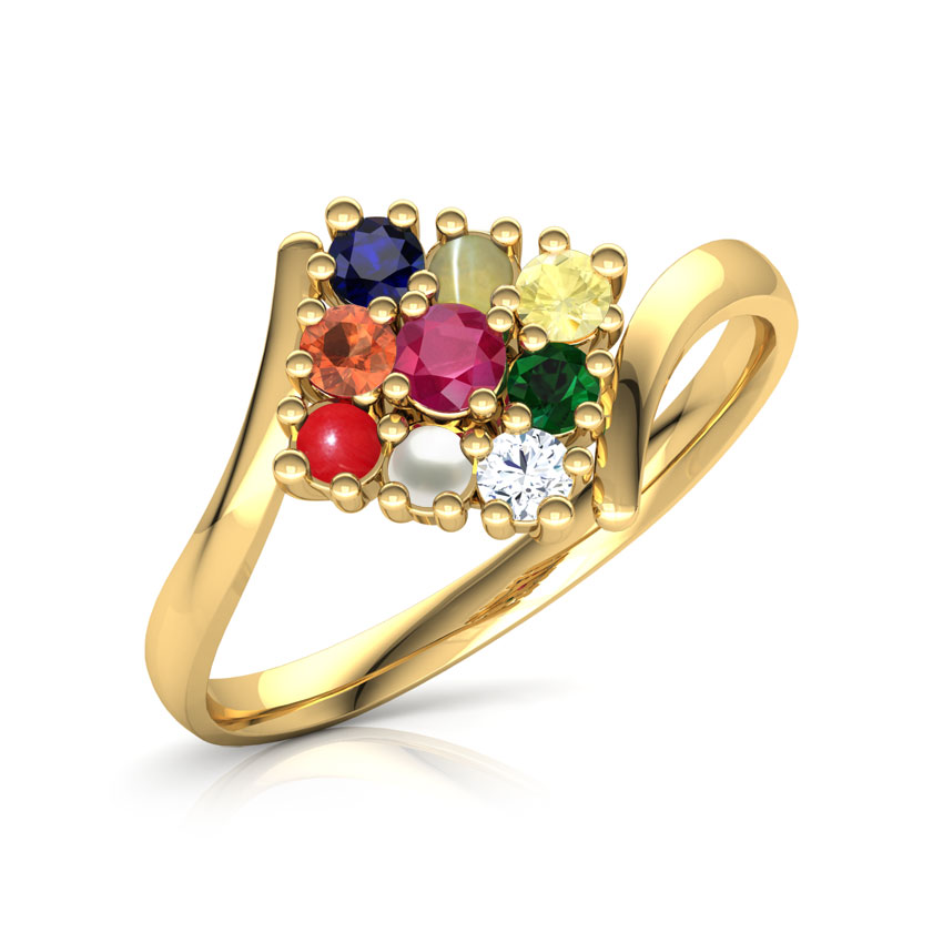 Parvati Navratna Ring