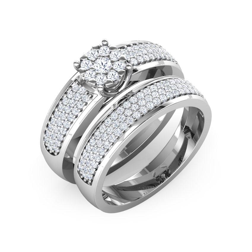 Glitz Bridal Ring Set