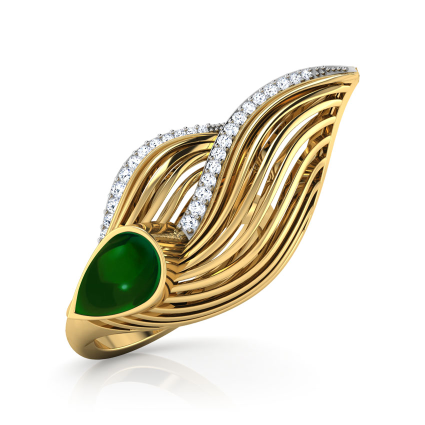 Feather Dune Ring