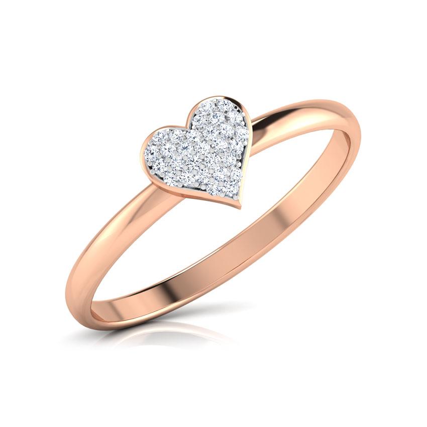 Radiant Heart Ring