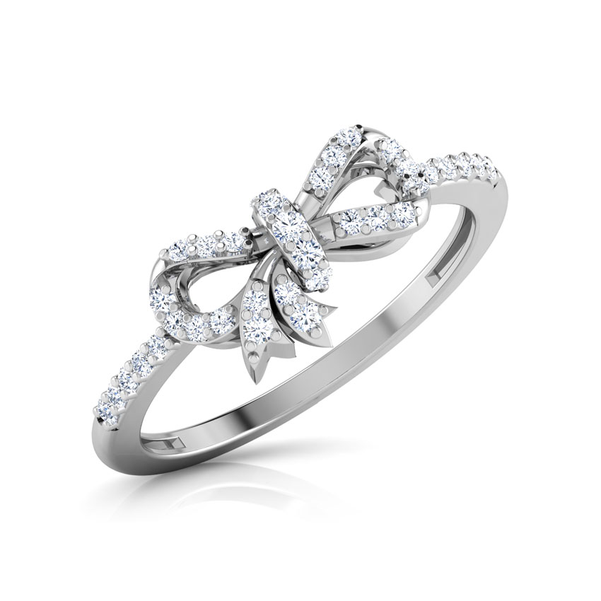 bow heart crystal online love austrian plated wedding rings buy gold