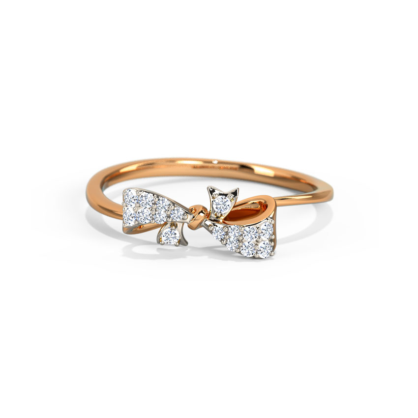Elegant Bow Ring
