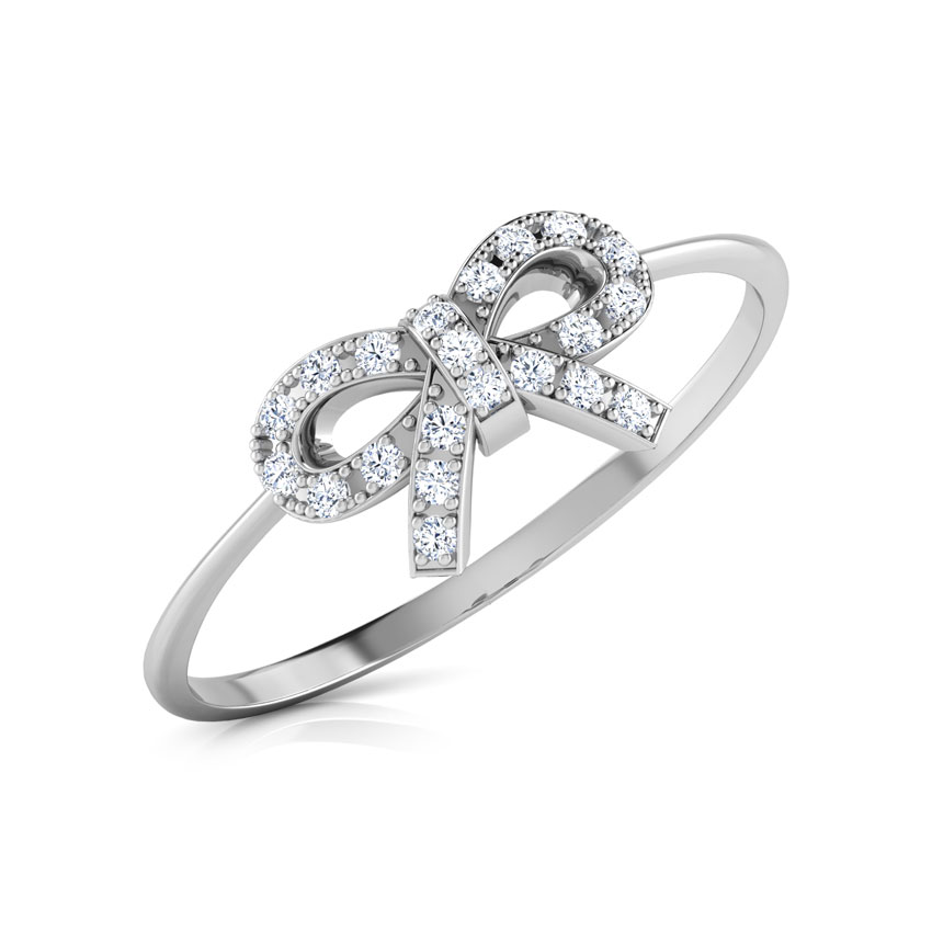 Dazzle Bow Ring