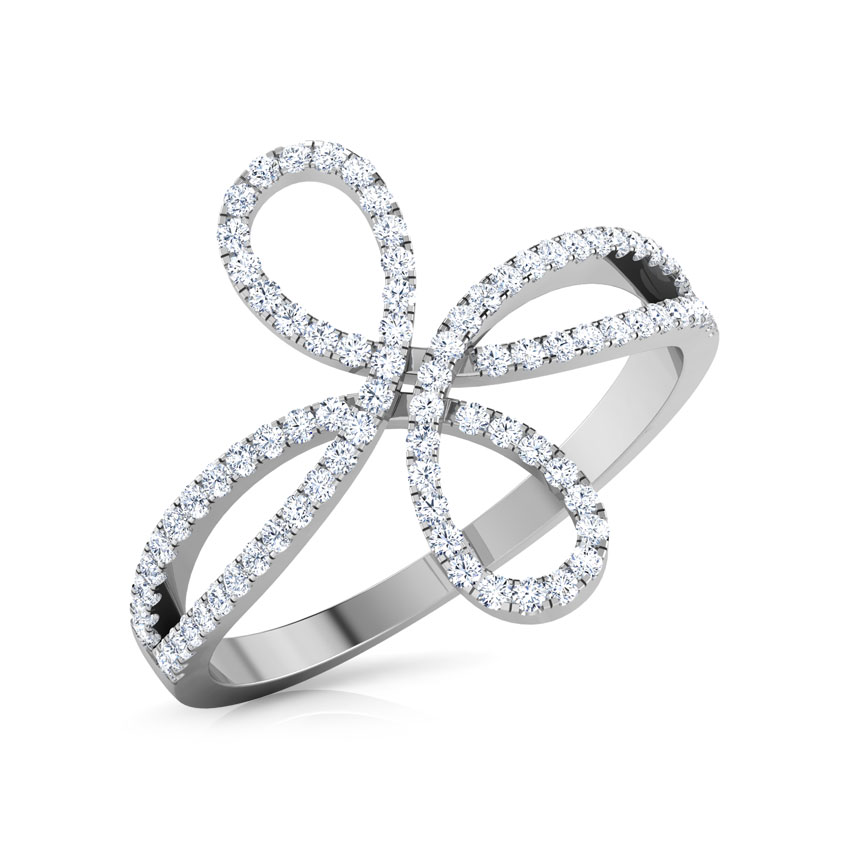 Twine Infinity Ring