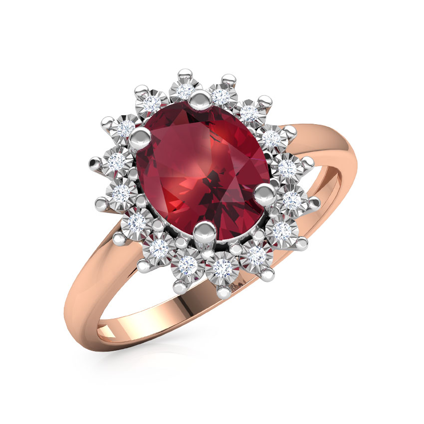 Sparkling Miracle Plate Ring