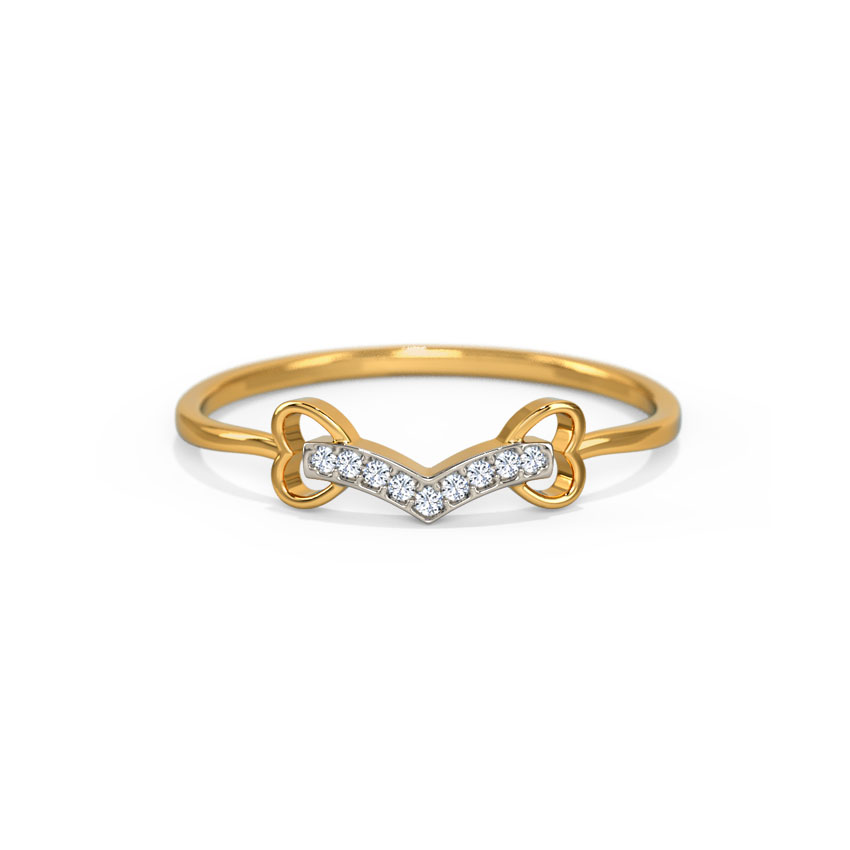 Victory Heart Ring