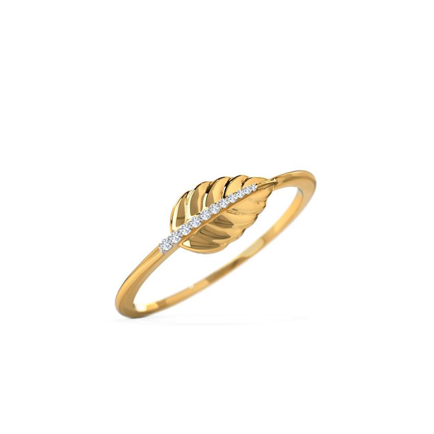 Frond Leaf Ring