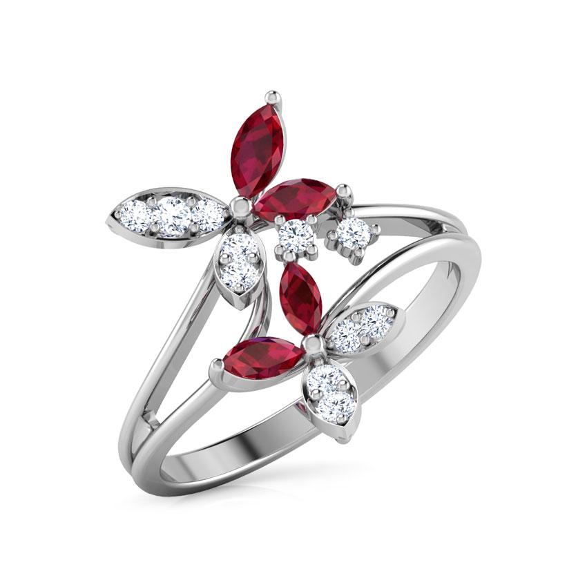 Duo Flower Ring