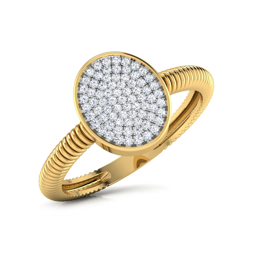 Ovate Cluster Ring