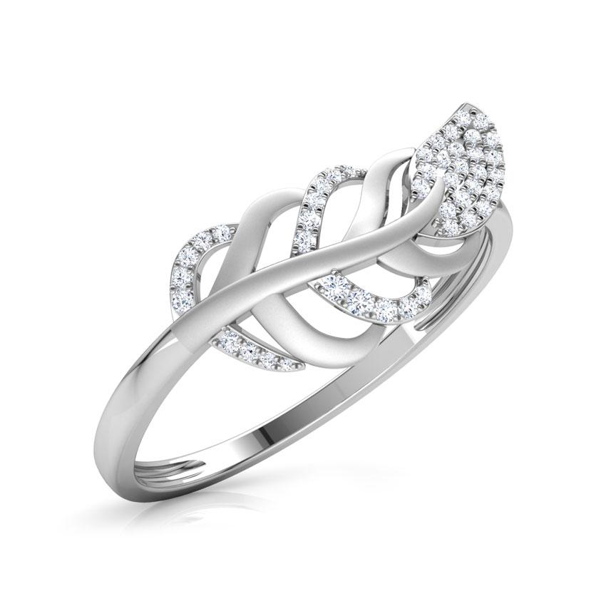 Wispy Leaf Ring