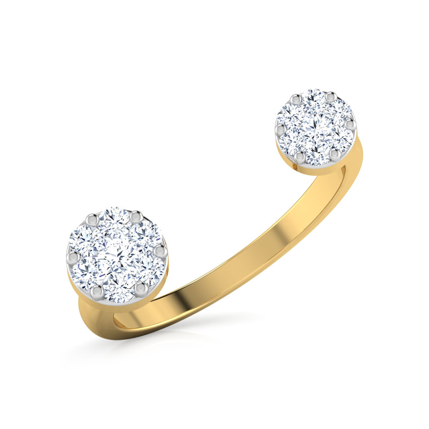 Duo Cluster Open Ring