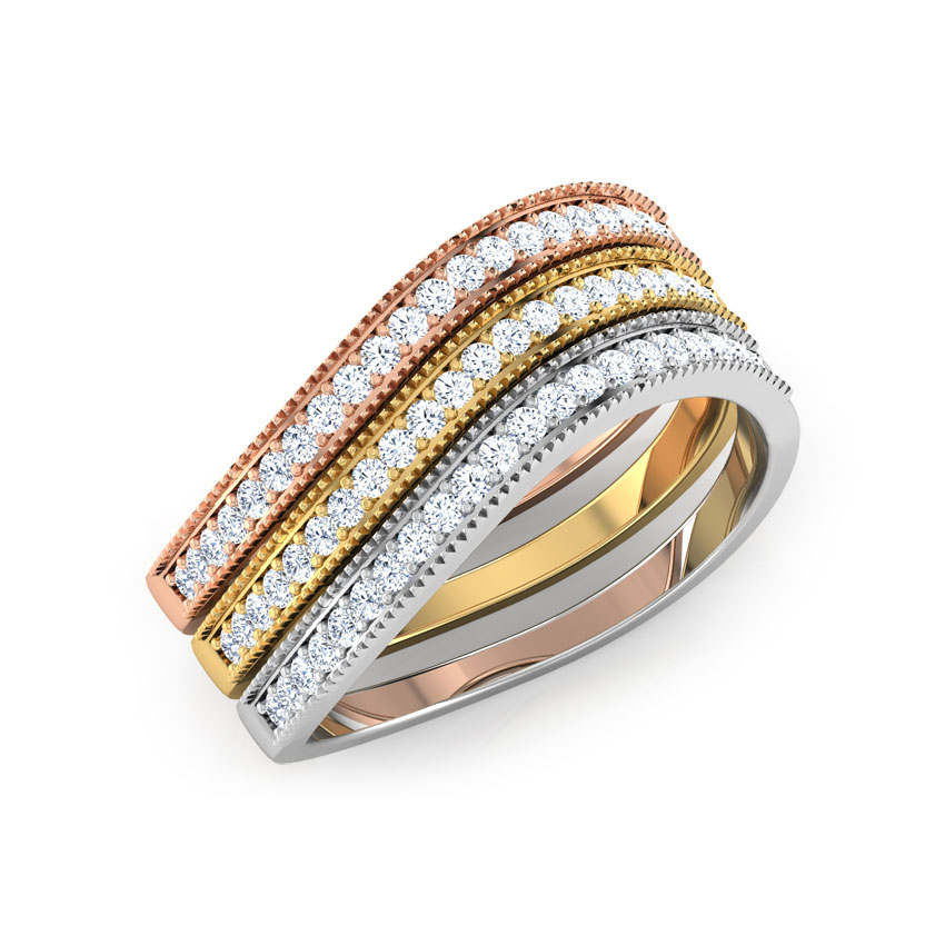 Linear Three Tone Ring