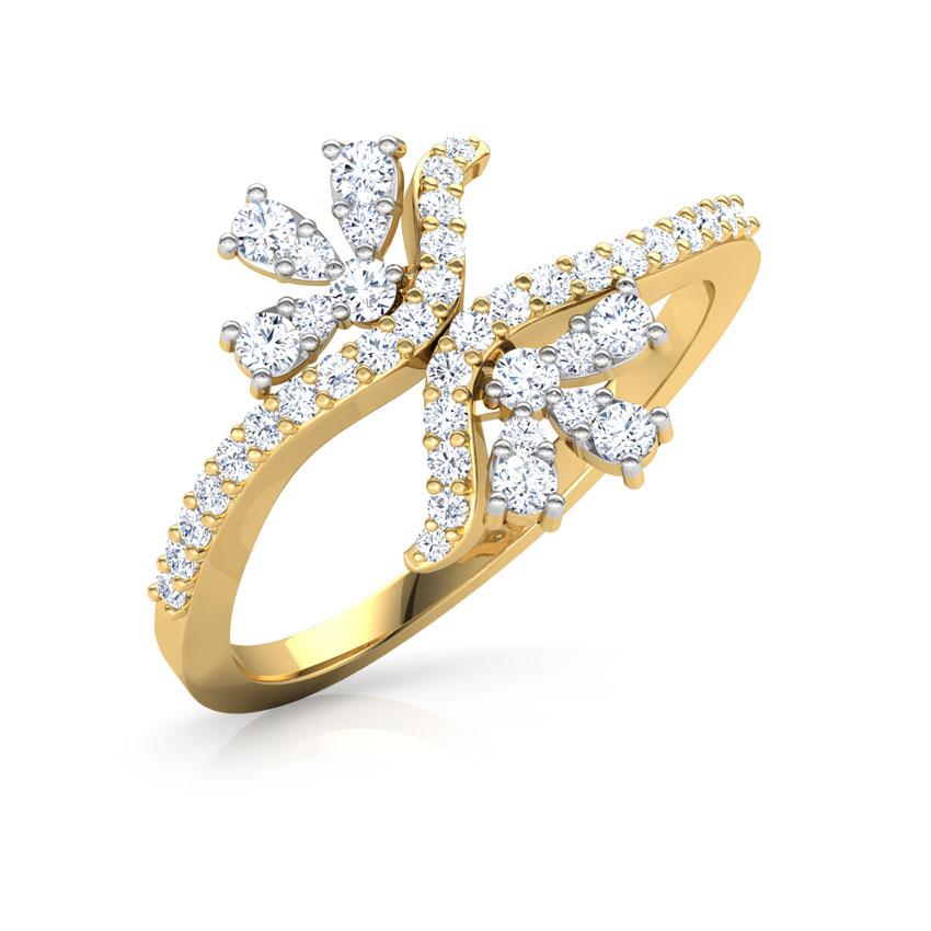 Split Floret Ring
