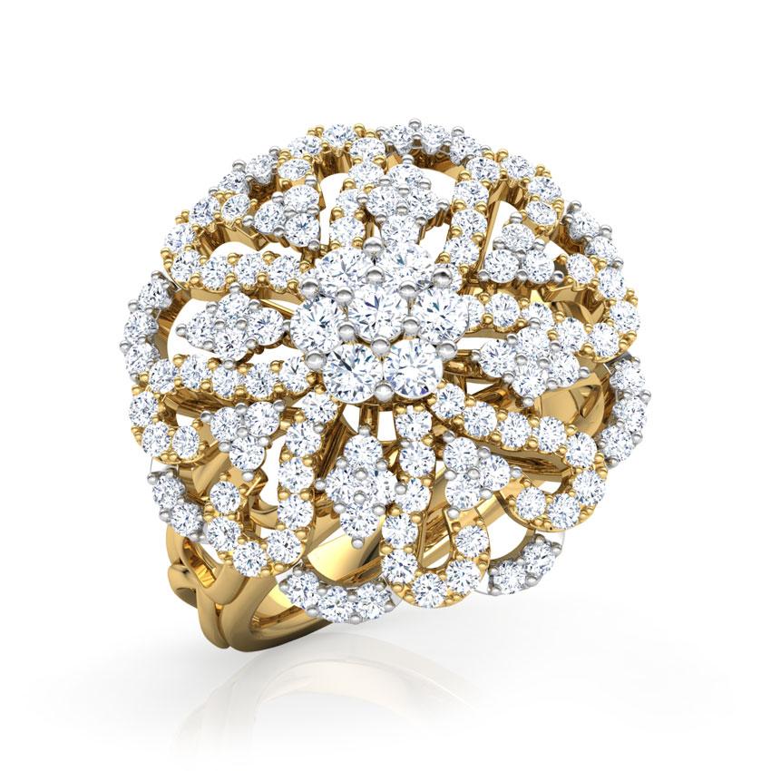 Glitter Cupola Ring