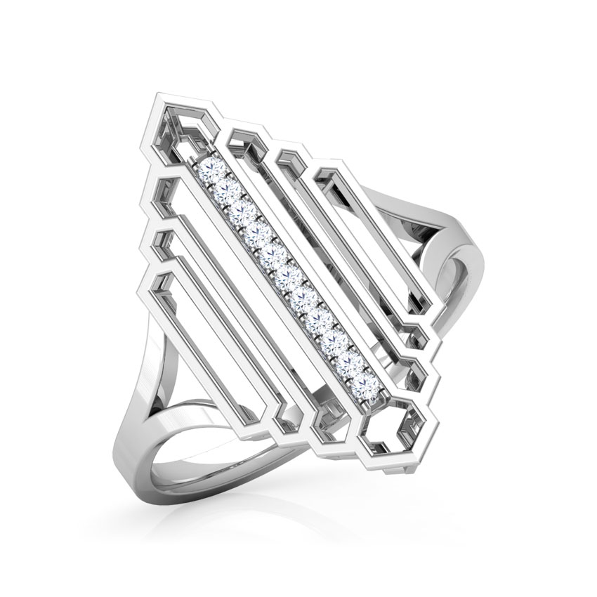 Regal Stepped Ring
