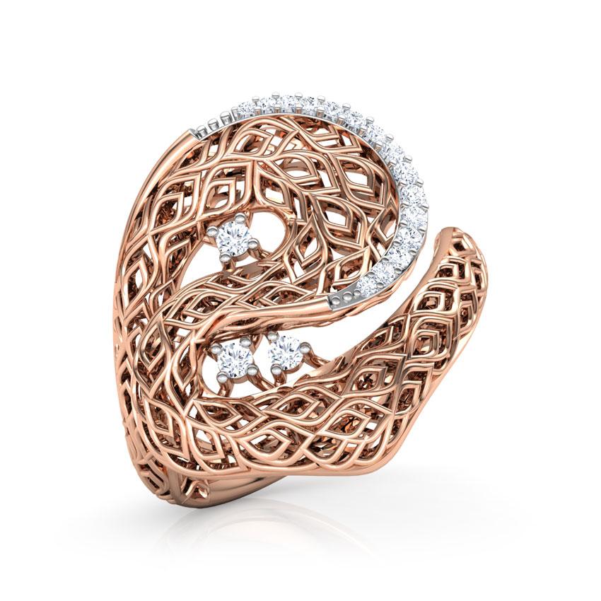 Basswood Leaf Ring