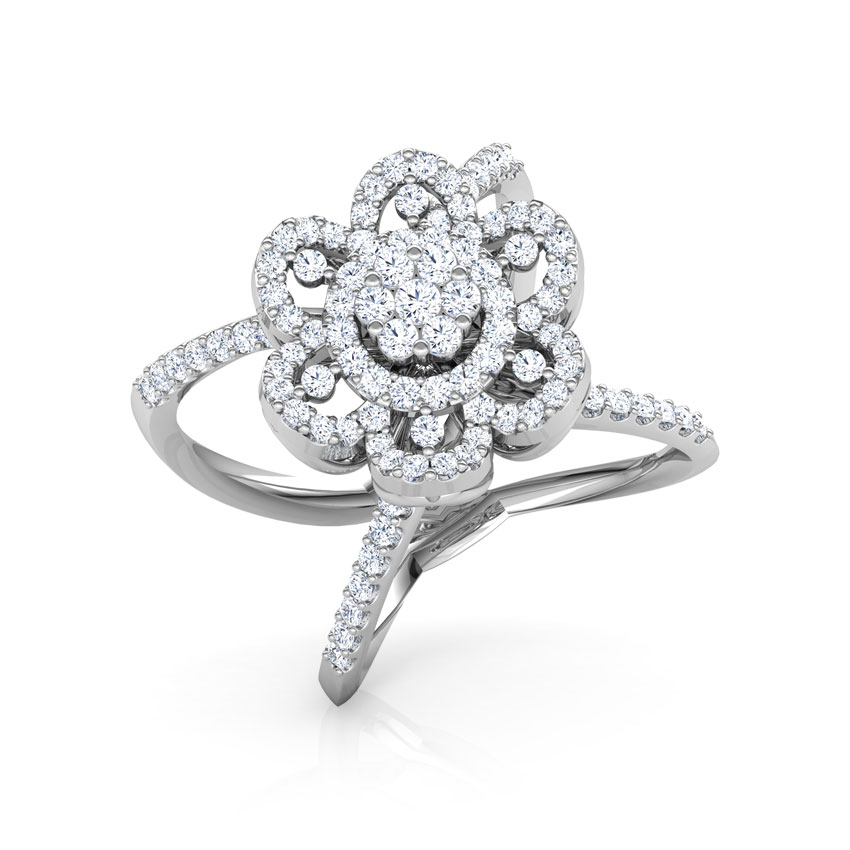 Blossom Wide Ring
