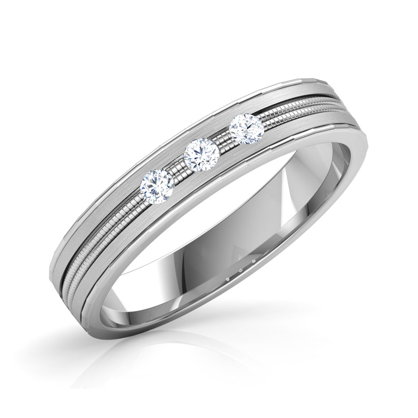 Pierre Platinum Band for Him