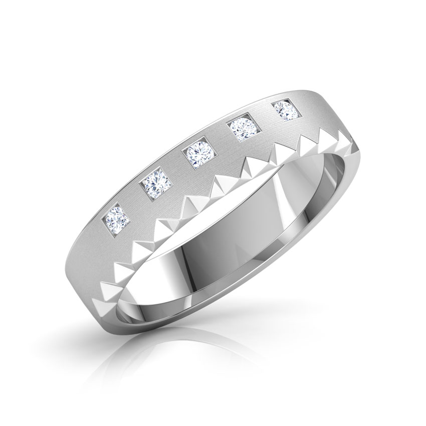 Mary Platinum Band for Her