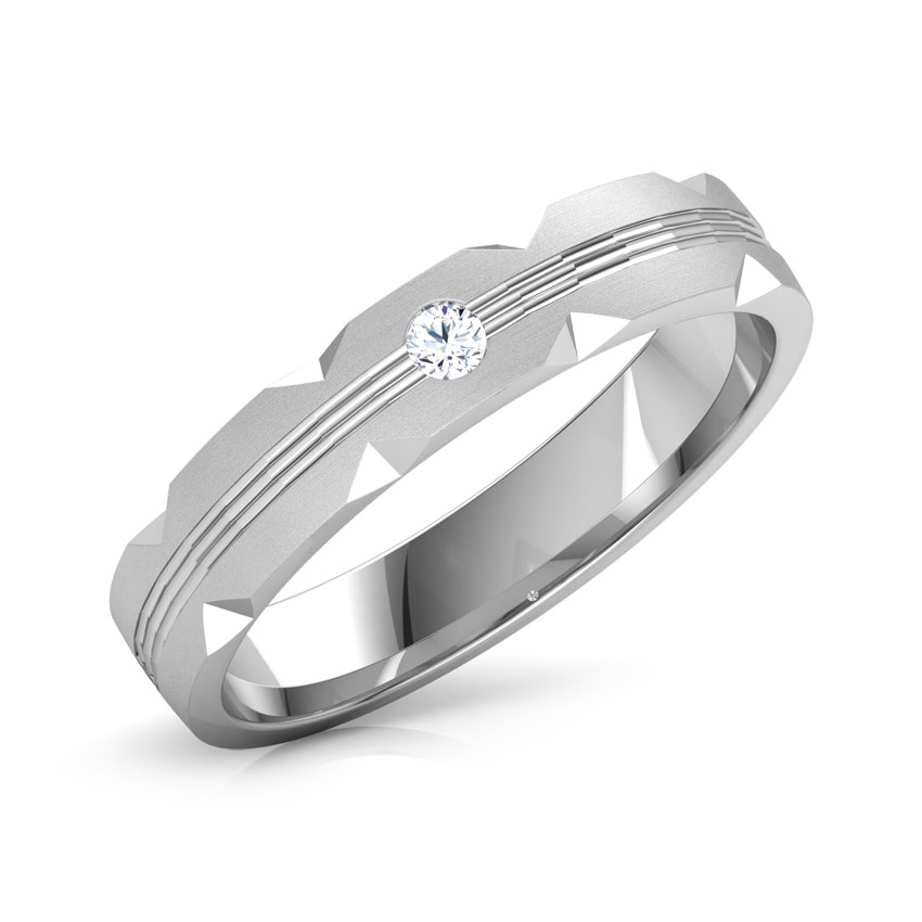 Edith Platinum Band for Him