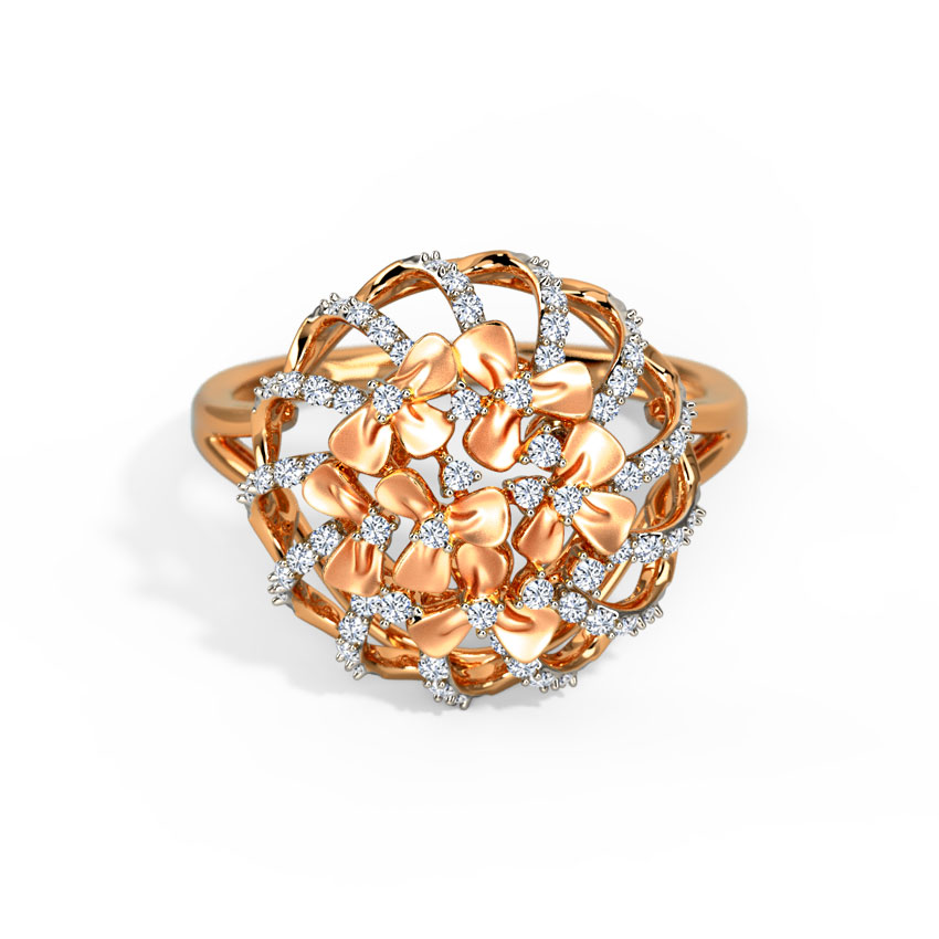 Trillium Floral Ring
