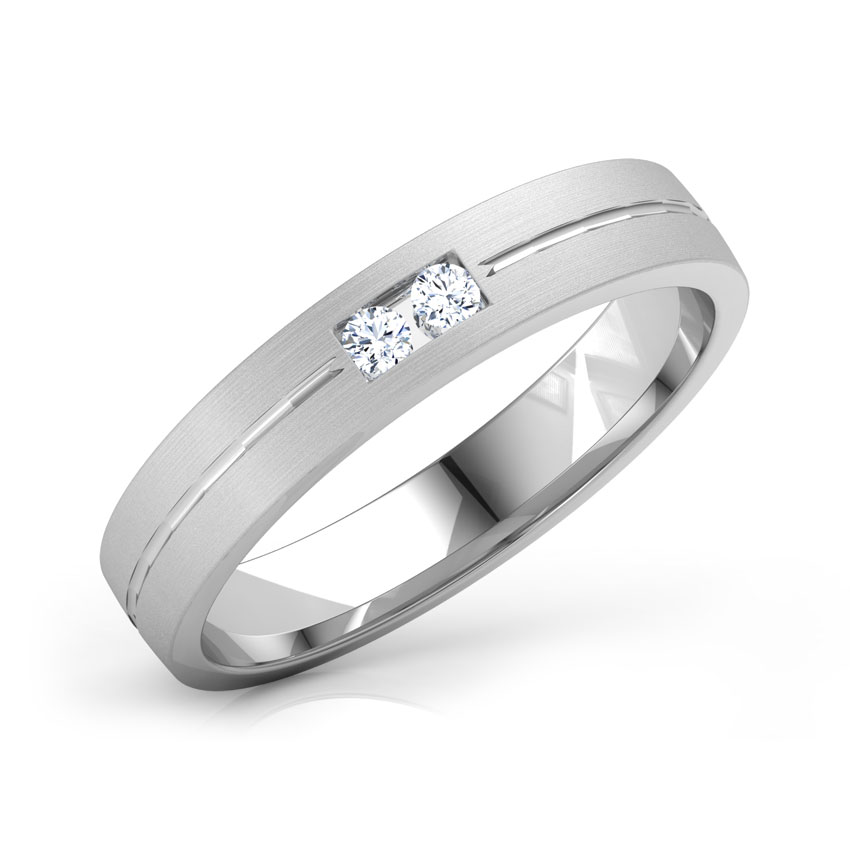 Scott Platinum Band for Him