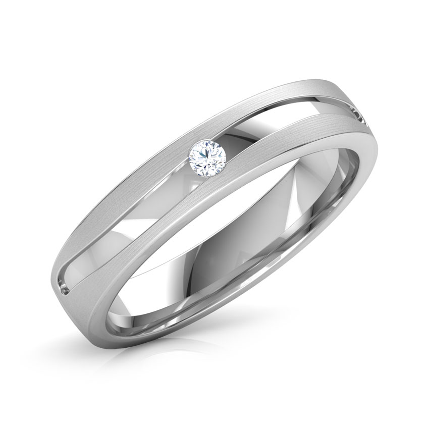 Alfred Platinum Band for Him