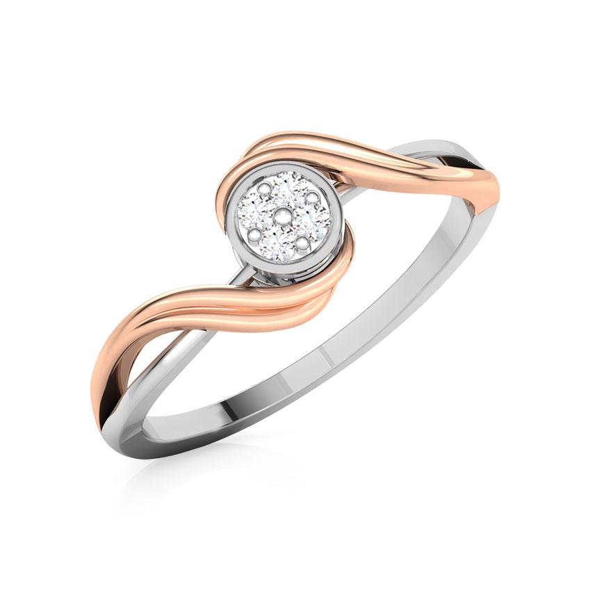 Radiant Cluster Promise Ring