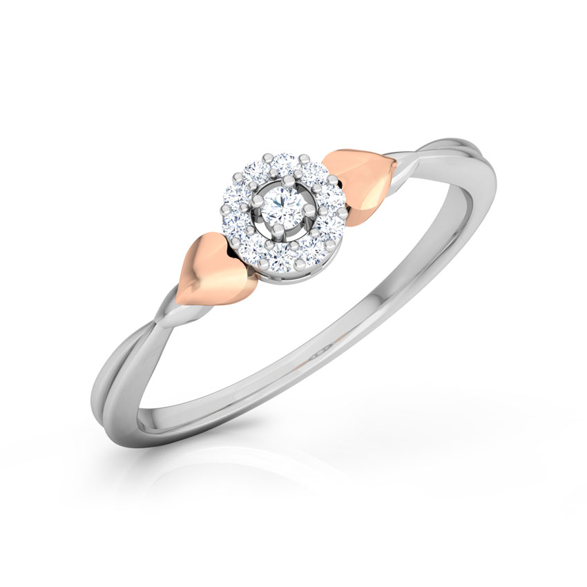 Glowing Halo Promise Ring