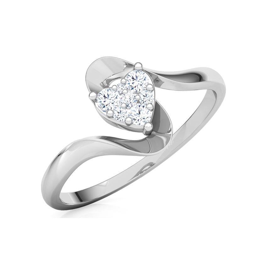 Alluring Heart Promise Ring