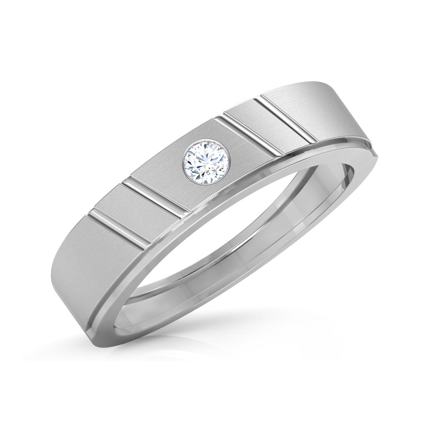 Rhette Platinum Band for Him